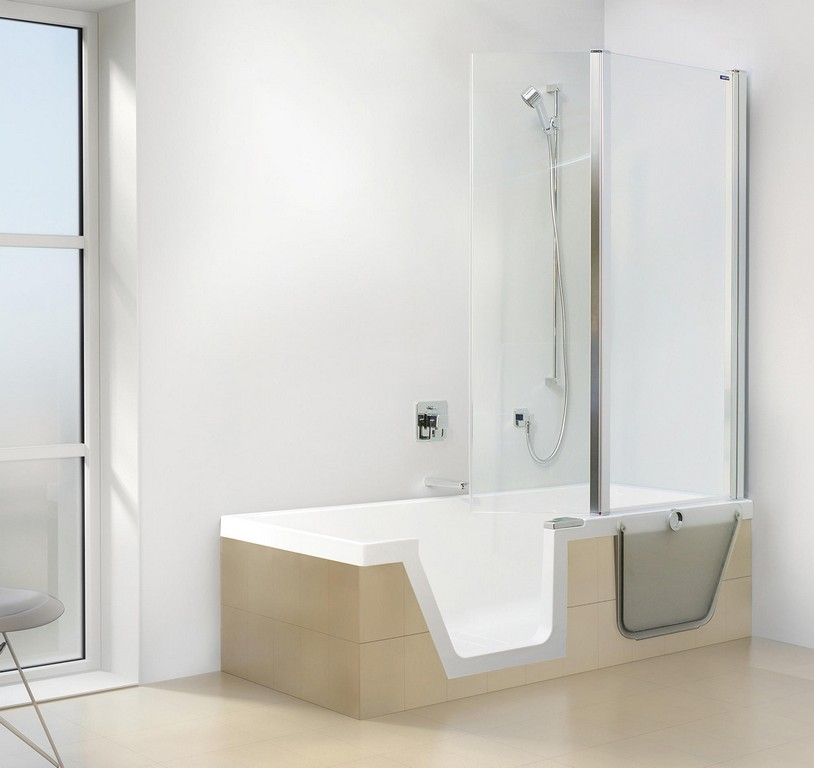 Amazing Ideas Badewanne Mit Dusche Wanne Dusche Kombinationen regarding measurements 2000 X 1886