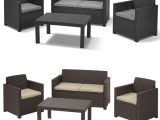 Allibert Lounge Set Merano Poly Rattan Gartengarnitur Gartenmbel with regard to size 1500 X 1500