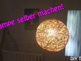 Lampe Lampenschirm Selber Machen Basteln Fr Anfnger Diy with regard to sizing 3000 X 1687