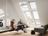 Velux Dachfenster Integra Fenster Lichtband Scherwat Scherwat with sizing 1024 X 768
