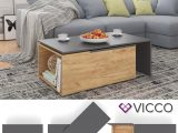 Vicco Couchtisch 60×100 Cm Wohnzimmertisch Real throughout measurements 1024 X 1024